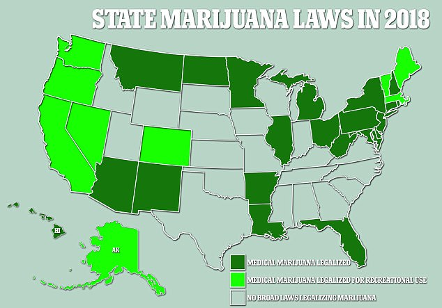 States Where Growing Medical Weed Is Legal