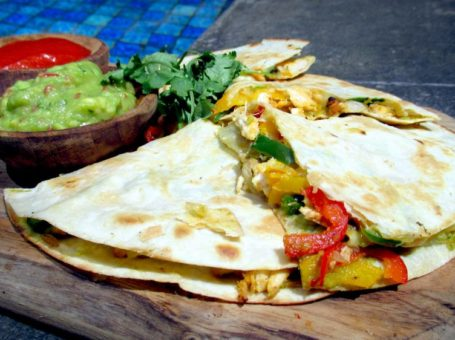 Easy-Made Cannabis Quesadilla