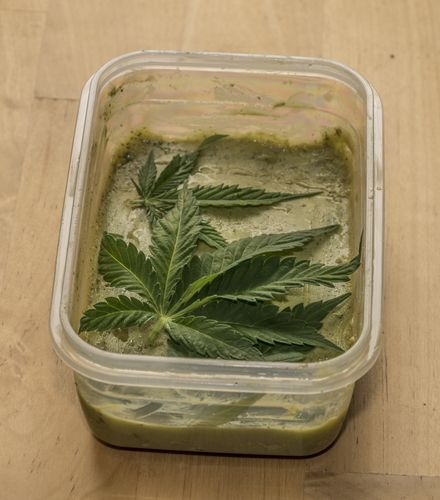 Cooking with cannabutter requires controlled recipes