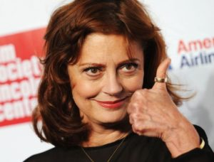 Susan Sarandon and marijuana