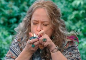 Kathy Bates and marijuana