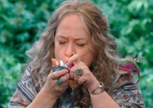 Kathy Bates and marijuana