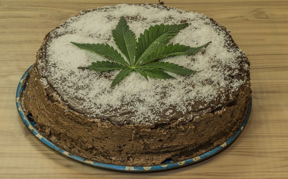 Space Cake With Weed Butter